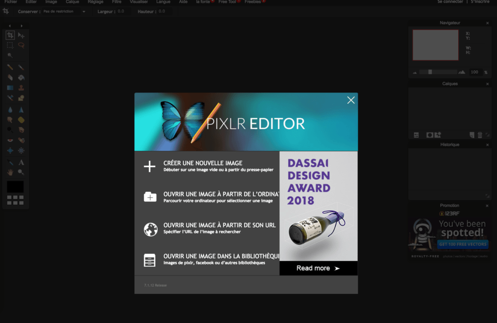 PixlR editor alternative à photoshop editor