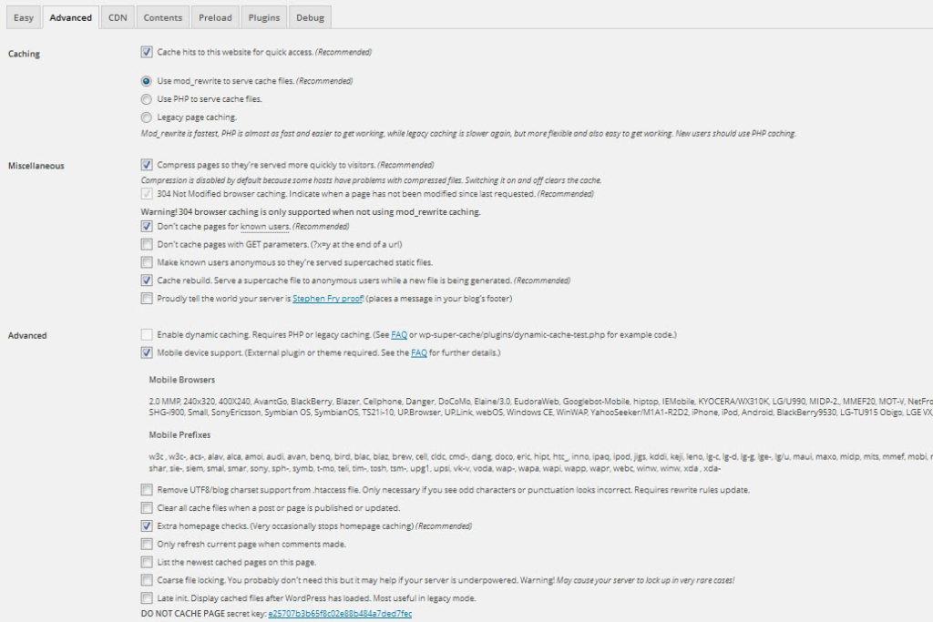 plugin wordpress gratuit wp super cache